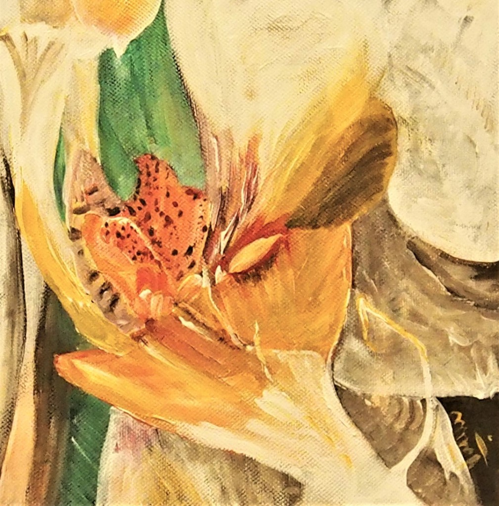 Coeur d'orchidée