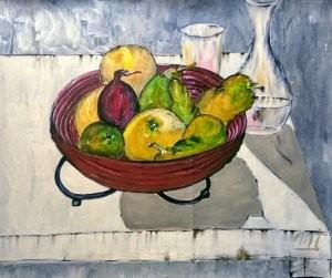 Corbeille aux fruits
